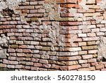 old brick wall. background. | Shutterstock . vector #560278150