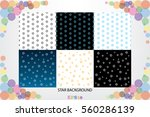 stars background vector... | Shutterstock .eps vector #560286139