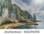 japanese landscape  ... | Shutterstock . vector #560296450