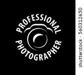 logo camera the photographer | Shutterstock .eps vector #560312650
