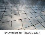 net backlight   sky background. | Shutterstock . vector #560321314