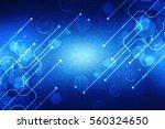 2d illustration digital... | Shutterstock . vector #560324650