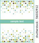 template frame design for... | Shutterstock .eps vector #56032912