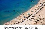 solar tsampika beach | Shutterstock . vector #560331028