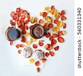 Valentine's Day. Tasty Dessert...