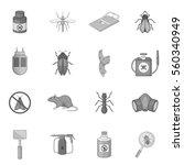 Exterminator Icons Set In...