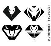 Diamond And Snake Logo