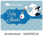 Baby Shower Invitation Card  A...