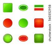 switch element icons set....