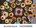 close up and under of beautiful ... | Shutterstock . vector #560368888