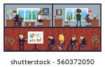 Pixel Art Office  Working...