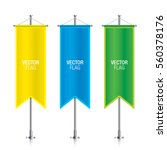 set of colorful vector banner... | Shutterstock .eps vector #560378176