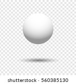 white ball | Shutterstock .eps vector #560385130