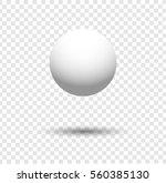 white ball | Shutterstock .eps vector #560385130