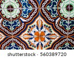vintage tile background | Shutterstock . vector #560389720