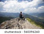beautiful scenery from little... | Shutterstock . vector #560396260
