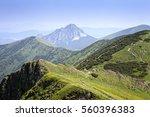 beautiful scenery on big... | Shutterstock . vector #560396383