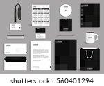 business stationery set... | Shutterstock .eps vector #560401294