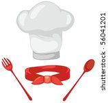 illustration of isolated chef... | Shutterstock .eps vector #56041201