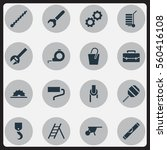 set of 16 apparatus icons....