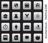 set of 16 eknowledge icons....