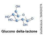 glucono delta lactone  also...   Shutterstock .eps vector #560424274