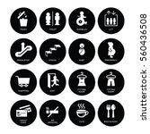 shopping mall signage symbol...