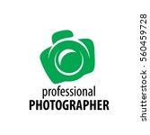 logo camera the photographer | Shutterstock .eps vector #560459728