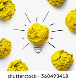 great idea concept. shining... | Shutterstock . vector #560493418