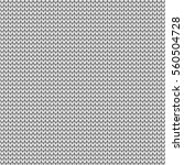 seamless knitting pattern.... | Shutterstock .eps vector #560504728