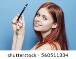 Young Beauty Woman Making A...