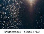 glitter lights abstract... | Shutterstock . vector #560514760