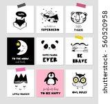 scandinavian style  simple... | Shutterstock .eps vector #560520958