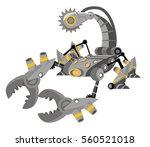 robot battle scorpion