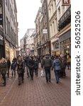 amsterdam the netherlands... | Shutterstock . vector #560525206