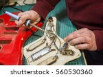 fixing guitar electronics | Shutterstock . vector #560530360