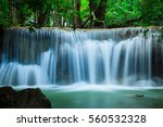 Deep Waterfall In Huay Mae...
