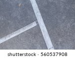the lines on the tennis court | Shutterstock . vector #560537908