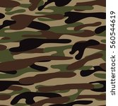 camouflage pattern background... | Shutterstock .eps vector #560544619