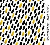 trendy brush stroke seamless... | Shutterstock .eps vector #560570449