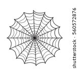 cobweb illustration isolated on ... | Shutterstock .eps vector #560572876