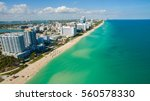 south beach  miami beach.... | Shutterstock . vector #560578330