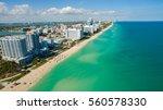 south beach  miami beach....   Shutterstock . vector #560578330