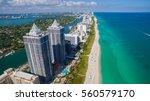 south beach  miami beach.... | Shutterstock . vector #560579170