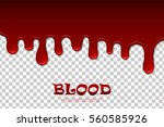 dripping blood isolated pattern....