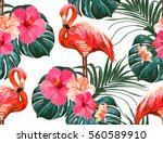 beautiful seamless vector... | Shutterstock .eps vector #560589910