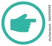 index finger rubber seal stamp...