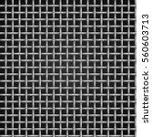Vector Metal Grid Seamless On...