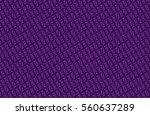 abstract dark geometric pattern ... | Shutterstock . vector #560637289
