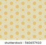 modern floral geometric...   Shutterstock . vector #560657410